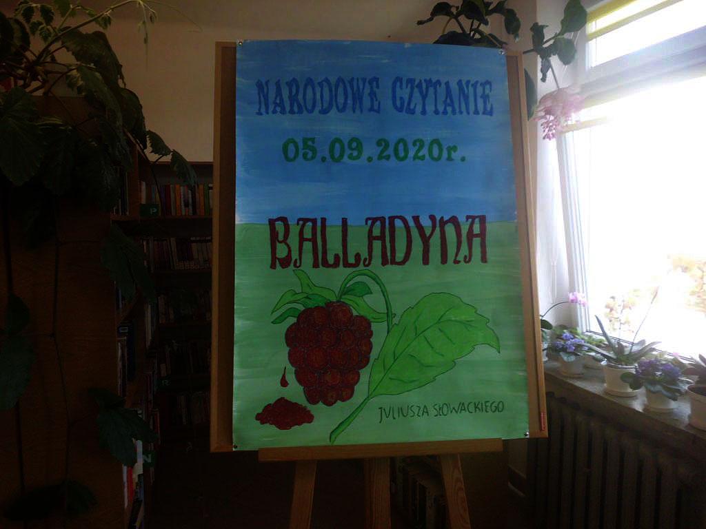 """You are currently viewing Narodowe czytanie """"Balladyny"""" Juliusza Słowackiego"""