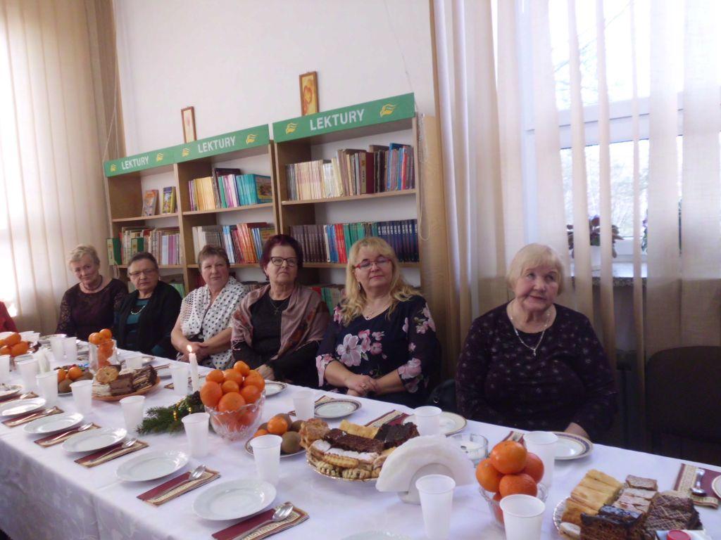 Read more about the article Spotkanie opłatkowe w Bibliotece